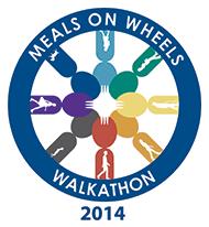 Meals on Wheels Walkathon 2014 Logo